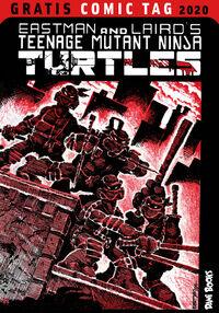 Eastman and Laird's Teenage Mutant Ninja Turtles - Gratis-Comic-Tag 2020 - Klickt hier für die große Abbildung zur Rezension