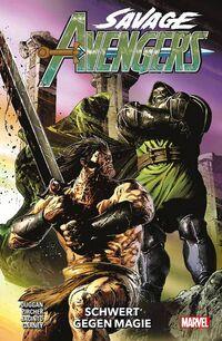 Savage Avengers 2: Schwert gegen Magie - Klickt hier für die große Abbildung zur Rezension