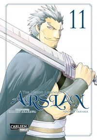 The Heroic Legend of Arslan 11 - Klickt hier für die große Abbildung zur Rezension