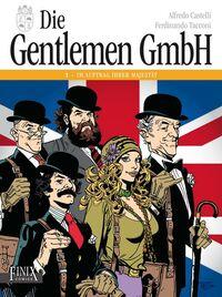 Die Gentlemen GmbH Gesamtausgabe 1: Im Auftrag Ihrer Majestät - Klickt hier für die große Abbildung zur Rezension