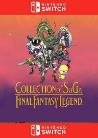 Collection of SaGa - Final Fantasy Legend - Klickt hier für die große Abbildung zur Rezension