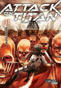 Attack on Titan 31 - Klickt hier für die große Abbildung zur Rezension