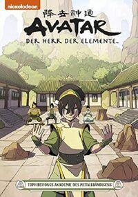 Avatar – Der Herr der Elemente 21: Toph Beifongs Akademie des Metallbändigens - Klickt hier für die große Abbildung zur Rezension