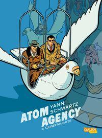 Atom Agency 2 - Klickt hier für die große Abbildung zur Rezension