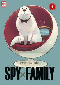 Spy x Family 4 - Klickt hier für die große Abbildung zur Rezension