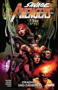 Savage Avengers 3: Drachen und Zauberer - Klickt hier für die große Abbildung zur Rezension