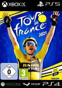 Tour de France 2021 - Klickt hier für die große Abbildung zur Rezension