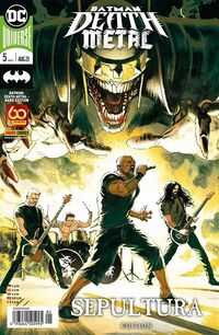 Splashcomics: Batman Death Metal – Band Edition 5