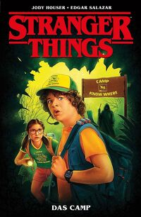 Stranger Things: Das Camp  - Klickt hier für die große Abbildung zur Rezension