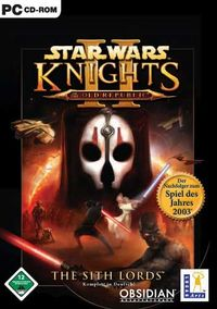 Star Wars Knights of the Old Republic 2: The Sith Lords - Klickt hier für die große Abbildung zur Rezension