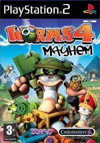 Worms Mayhem - Klickt hier für die große Abbildung zur Rezension