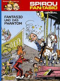Fantasio und das Phantom - Klickt hier für die große Abbildung zur Rezension