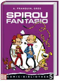 BILD Comic-Bibliothek 5: Spirou + Fantasio - Klickt hier für die große Abbildung zur Rezension