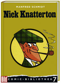 BILD Comic-Bibliothek 7: Nick Knatterton - Klickt hier für die große Abbildung zur Rezension