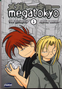 Megatokyo 1 - Klickt hier für die große Abbildung zur Rezension