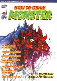 How to draw Manga Spezial 2 / How to draw Monster - Klickt hier für die große Abbildung zur Rezension