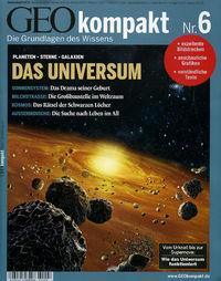 Geo Kompakt 6 – Das Universum - Klickt hier für die große Abbildung zur Rezension