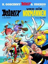 Asterix 9 - Asterix und die Normannen Sonderauflage mit neuem Cover - Klickt hier für die große Abbildung zur Rezension
