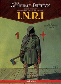 I.N.R.I. 1: Die fünf Finger Christi - Klickt hier für die große Abbildung zur Rezension