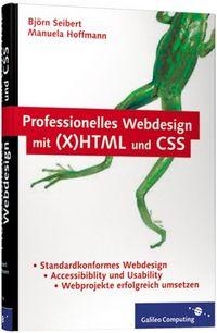 Professionelles Webdesign mit (X)HTML und CSS - Klickt hier für die große Abbildung zur Rezension