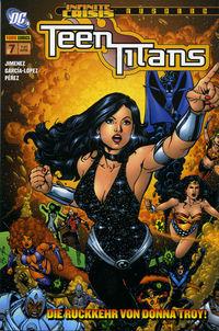 Teen Titans Sonderband 7: Die Rückkehr von Donna Troy - Klickt hier für die große Abbildung zur Rezension