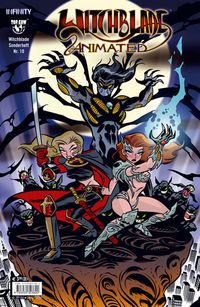Witchblade Sonderheft 10: Witchblade Animated - Klickt hier für die große Abbildung zur Rezension