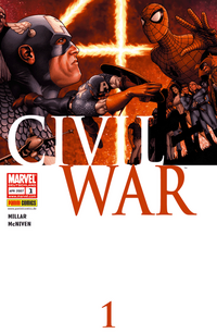 Civil War 1 - Klickt hier für die große Abbildung zur Rezension
