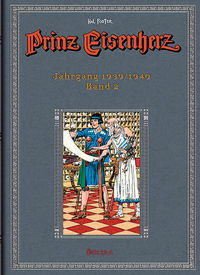Prinz Eisenherz 2 - Jahrgang 1939/1940 - Klickt hier für die große Abbildung zur Rezension