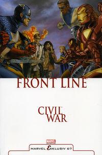 Marvel Exklusiv 67: Civil War – Frontline - Klickt hier für die große Abbildung zur Rezension