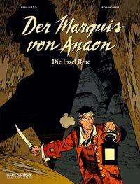 Der Marquis von Anaon: Die Insel Brac - Klickt hier für die große Abbildung zur Rezension