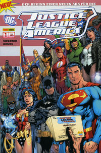 Justice League Of America Sonderband 1: Aus der Asche - Klickt hier für die große Abbildung zur Rezension