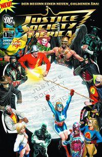 Justice Society of America 1 - Klickt hier für die große Abbildung zur Rezension
