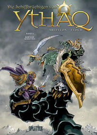 Die Schiffbrüchigen von Ythaq 4: Khengis' Schatten - Klickt hier für die große Abbildung zur Rezension