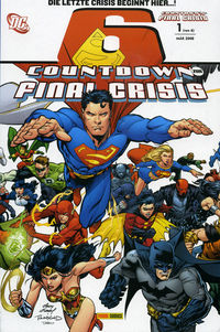 Countdown zur Final Crisis 1 (von 6) - Klickt hier für die große Abbildung zur Rezension