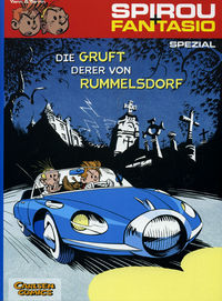 Spirou + Fantasio Spezial 6: Die Gruft derer von Rummelsdorf - Klickt hier für die große Abbildung zur Rezension