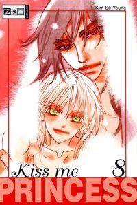 Kiss me Princess 8 - Klickt hier für die große Abbildung zur Rezension