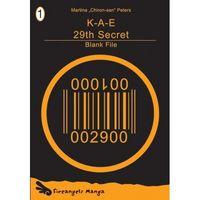 K-A-E 29th Secret 1: Blank File - Klickt hier für die große Abbildung zur Rezension