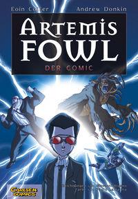 Artemis Fowl - Der Comic - Klickt hier für die große Abbildung zur Rezension