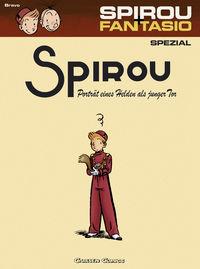Spirou & Fantasio Spezial 8: Porträt eines Helden als junger Tor - Klickt hier für die große Abbildung zur Rezension