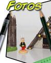 Das gallische Dorf des Asterix