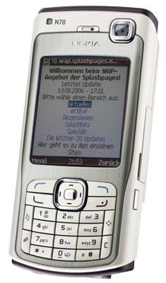 WAP-Dienst auf dem Nokia N70